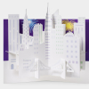 photo of holiday card with New York City Pop up Moma