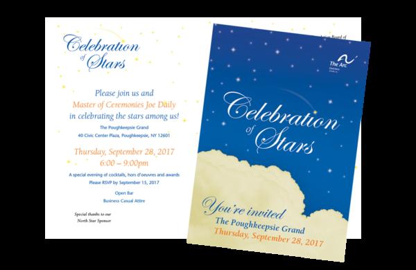 photo of celebration of stars invitation