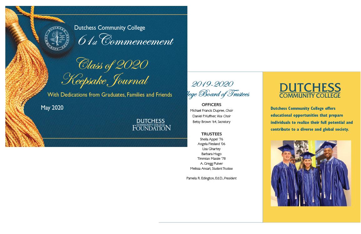 photo of Keepsake Journal for Dutchess Community College