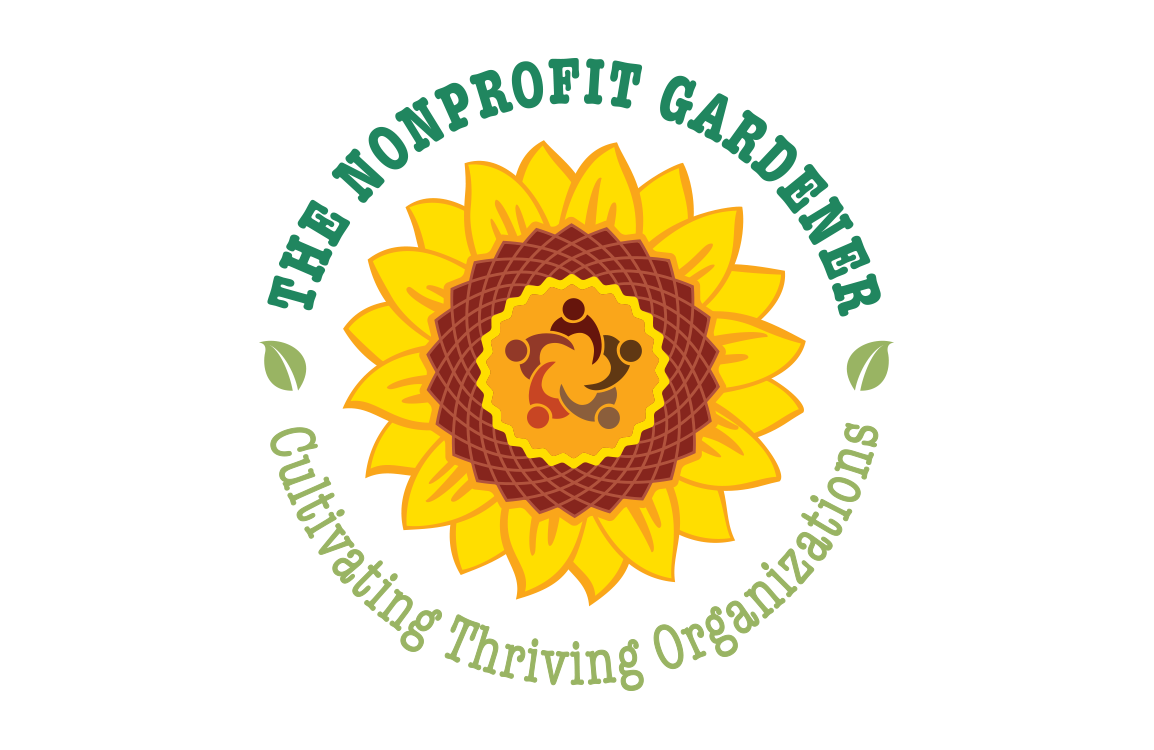 photo of logo for The Nonprofit Gardener