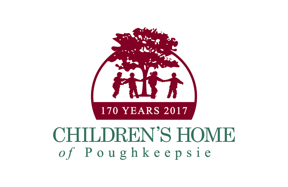 image of anniversary logo design for Children's Home of Poughkeepsie
