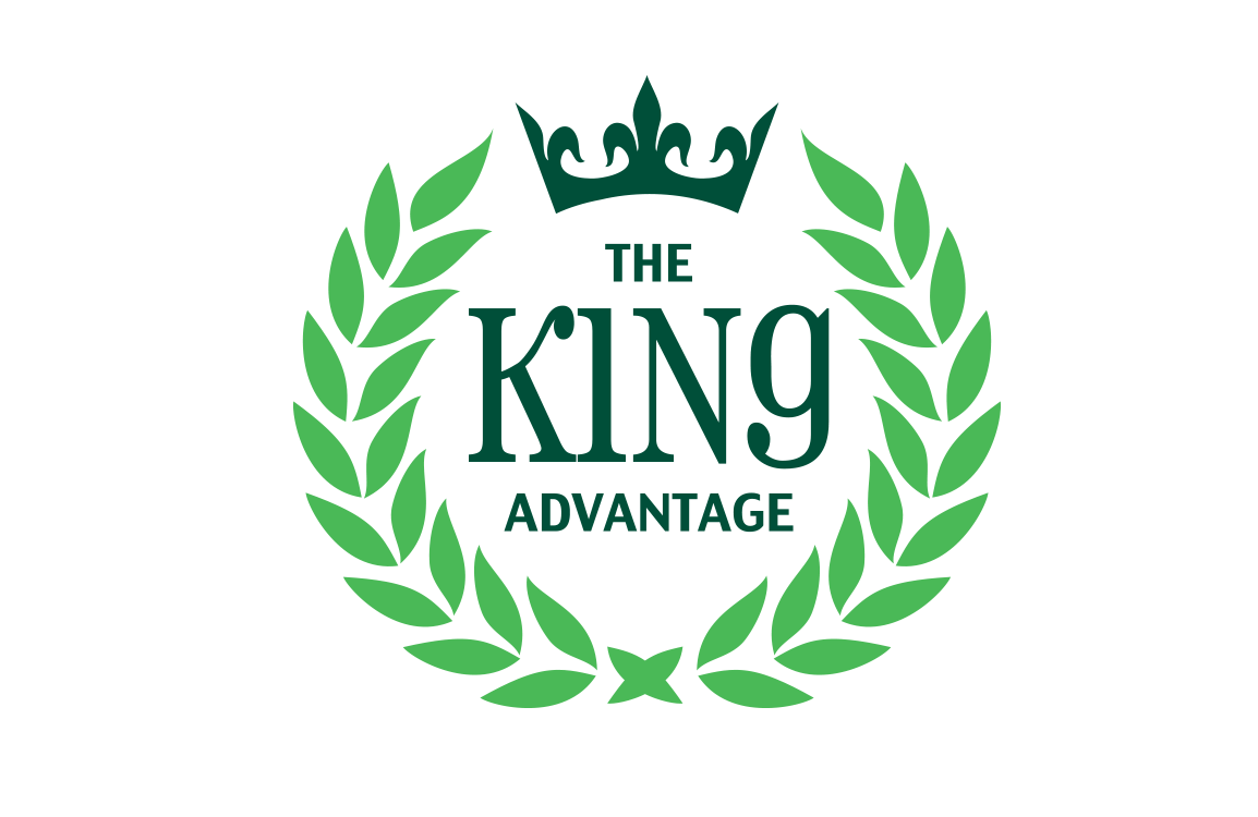 image of logo design for The King Advantage