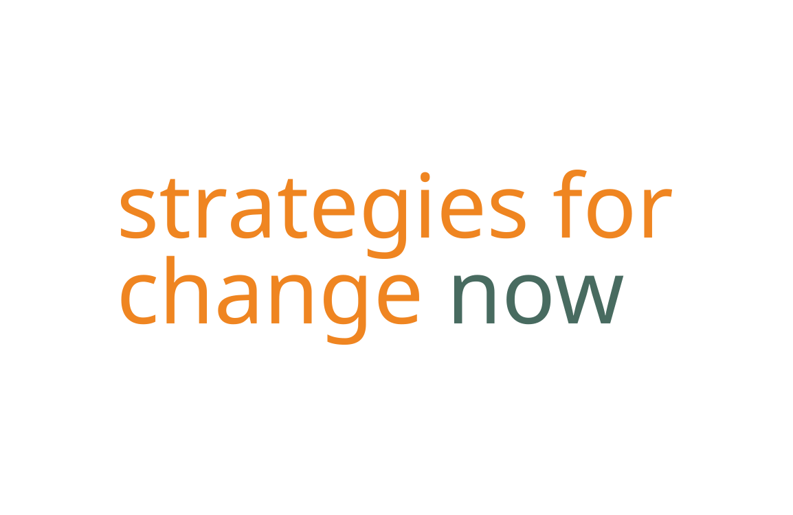 image of logo design for Strategies for Change Now