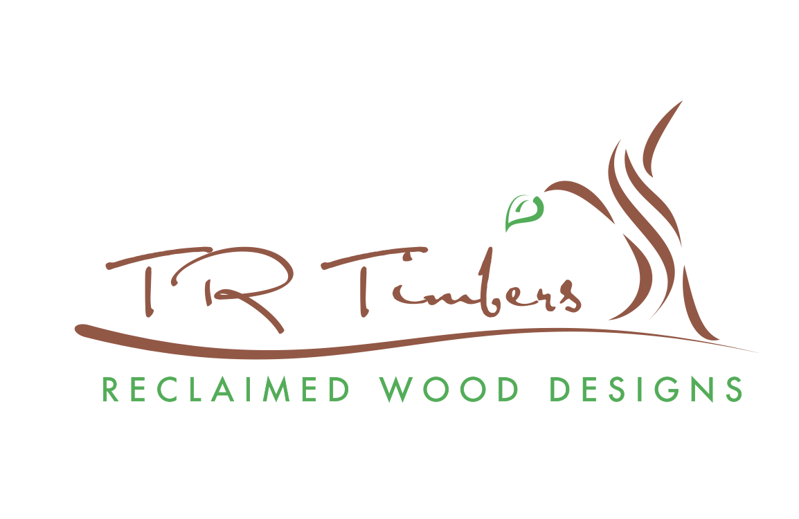 image of logo design for T R Timbers Reclaimed Wood Designs