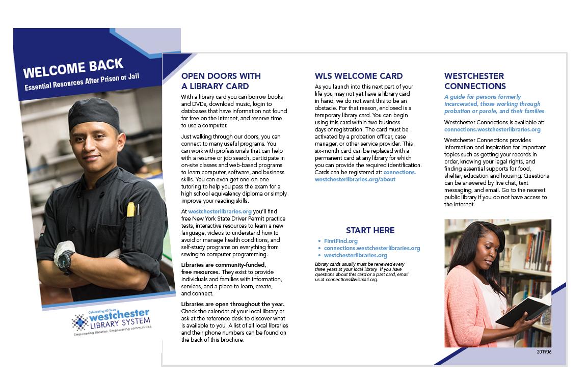image of Welcome Back brochure