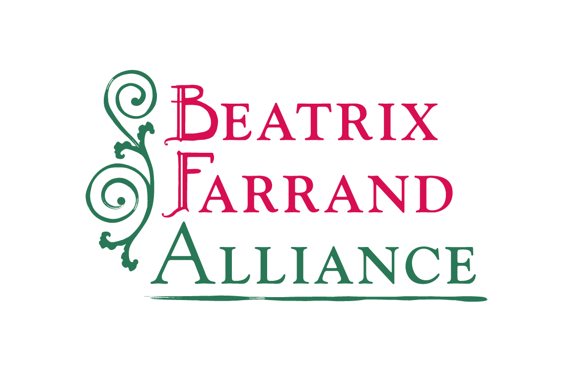 image of logo design for Beatrix Farrand Alliance