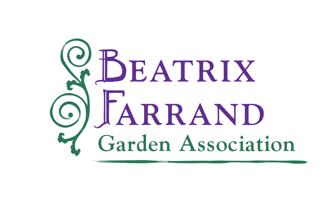 image of logo design for Beatrix Farrand Garden Association