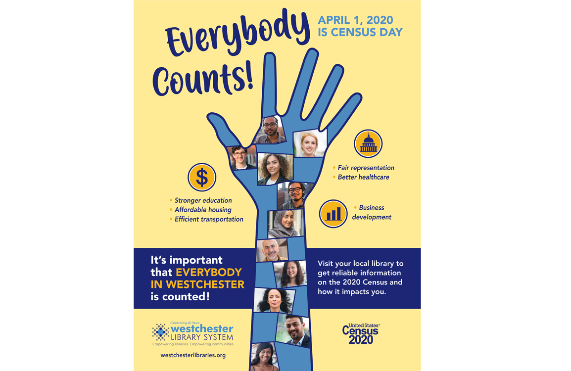 Everybody Counts! Flyer about 2020 Census