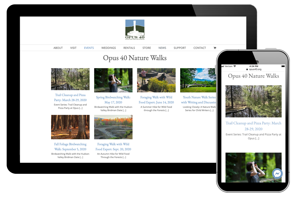 photo of nature walk event category page