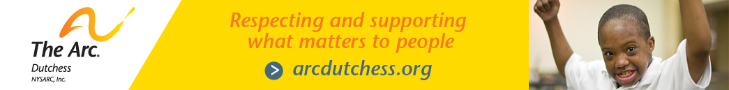 banner ad for The Arc of Dutchess