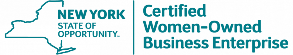 NYS Certified Women-Owned Business Enterprise logo